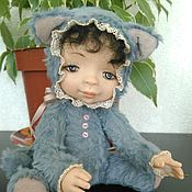 """Куклы и игрушки ручной работы. Ярмарка Мастеров - ручная работа Тедди долл """"Тимка"""". Handmade."""