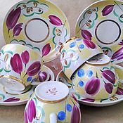 Винтаж handmade. Livemaster - original item 50s. rare. tea pair. verbilki.. Handmade.