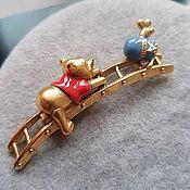handmade. Livemaster - original item Disney brooch, American vintage. Handmade.