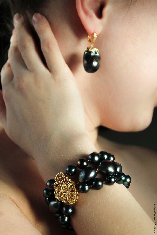 Bracelet 'Noble', Bead bracelet, Nizhny Novgorod,  Фото №1