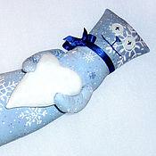Куклы и игрушки ручной работы. Ярмарка Мастеров - ручная работа Кот Снегокот. Handmade.