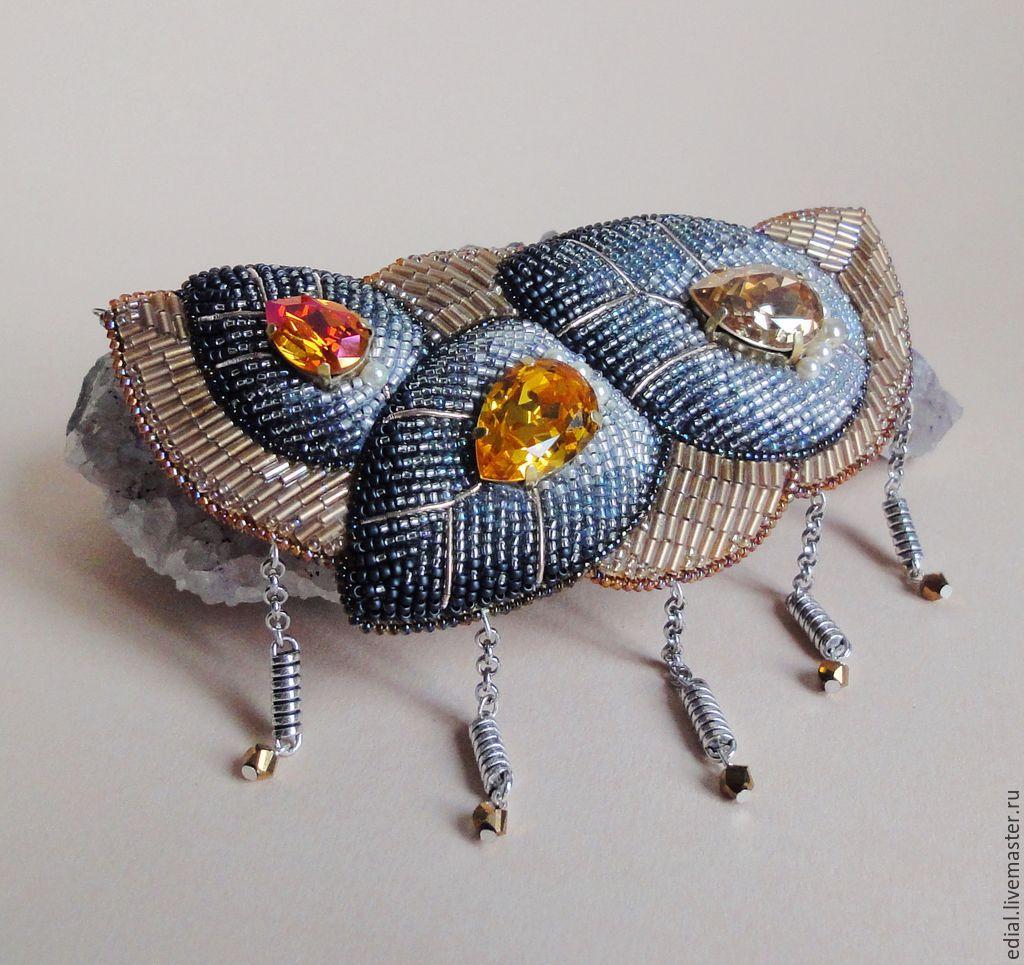 Necklace PRECIOUS BUDS swarovski, beads, GIMP, Necklace, Moscow,  Фото №1