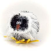 Куклы и игрушки ручной работы. Ярмарка Мастеров - ручная работа игрушка Сова полярная (совенок, совы, гарри поттер). Handmade.