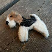 Украшения handmade. Livemaster - original item Pin Foxy. Handmade.