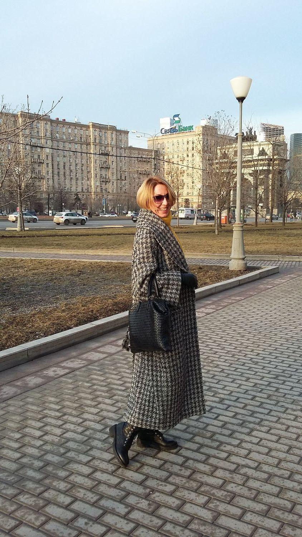 Пальто овер-сайз д/с, Пальто, Москва,  Фото №1