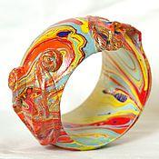 """Украшения ручной работы. Ярмарка Мастеров - ручная работа Браслет """"Золотая рыбка"""". Handmade."""