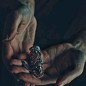 Украшения ручной работы. Ярмарка Мастеров - ручная работа DARKWOOD. Кулон из серебра и меди с цитрином.. Handmade.