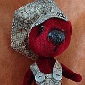 Куклы и игрушки ручной работы. Ярмарка Мастеров - ручная работа медвежонок Гаврошик. Handmade.