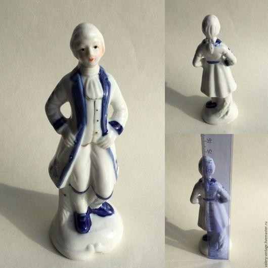 Винтажные сувениры. Ярмарка Мастеров - ручная работа. Купить Фарфоровая статуэтка , винтаж, 80-е годы.. Handmade. Комбинированный, фарфор