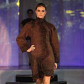 Одежда ручной работы. Ярмарка Мастеров - ручная работа Войлочное пальто. Handmade.