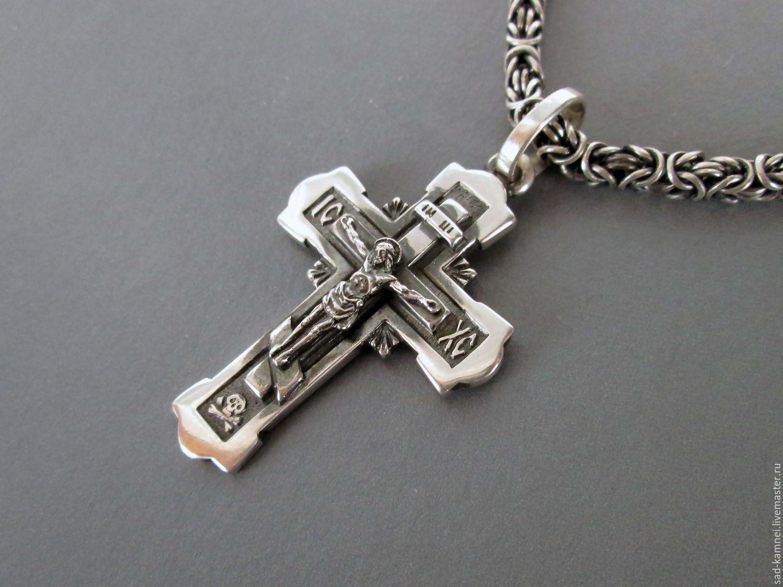 Серебряные крестики ручной работы 3