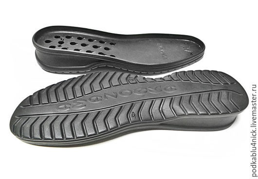 Другие виды рукоделия ручной работы. Ярмарка Мастеров - ручная работа. Купить Подошва для обуви Амазонка. Handmade. Черный