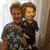 Елочные игрушки ручной работы. Ярмарка Мастеров - ручная работа Портретная кукла. Шарж по фото. Handmade.