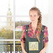 Одежда ручной работы. Ярмарка Мастеров - ручная работа сарафан любимый город. Handmade.