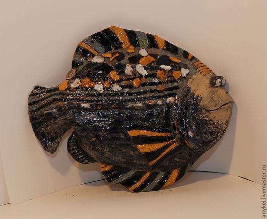 керамическая рыба ручной работы.Анна айрих
