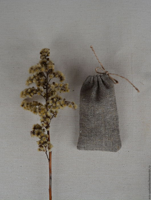 Упаковка ручной работы. Ярмарка Мастеров - ручная работа. Купить Мини-мешочек упаковочный из мешковины 5х9,5 см. Handmade.