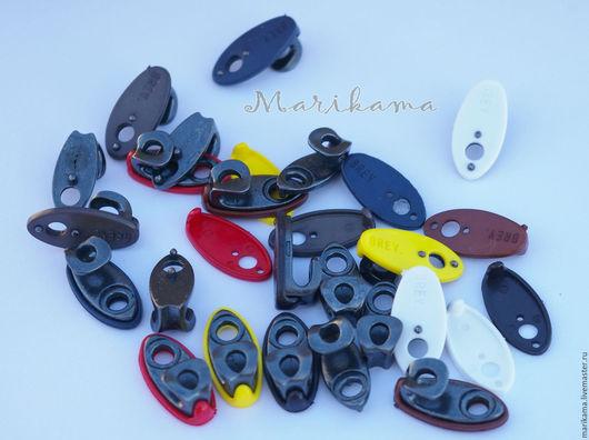 Валяние ручной работы. Ярмарка Мастеров - ручная работа. Купить Крючки и петли обувные с цветной подложкой. Handmade. Серебряный, сапоги