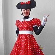 Одежда handmade. Livemaster - original item Minnie Mouse (classic). Animator-actor suit. Handmade.