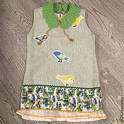 """Работы для детей, ручной работы. Ярмарка Мастеров - ручная работа платье """"Птички"""". Handmade."""