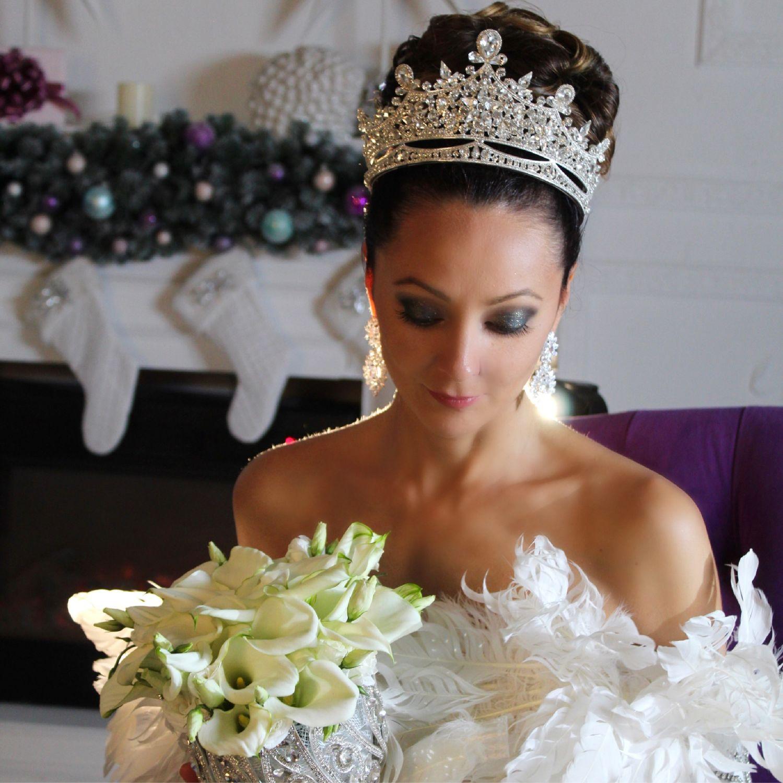 Тиара-корона, Диадема для невесты, Москва,  Фото №1