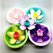 Косметика ручной работы. Ярмарка Мастеров - ручная работа Мыло SPA (орхидея в ванночке). Handmade.