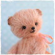 Куклы и игрушки ручной работы. Ярмарка Мастеров - ручная работа мишка тедди Персик. Handmade.