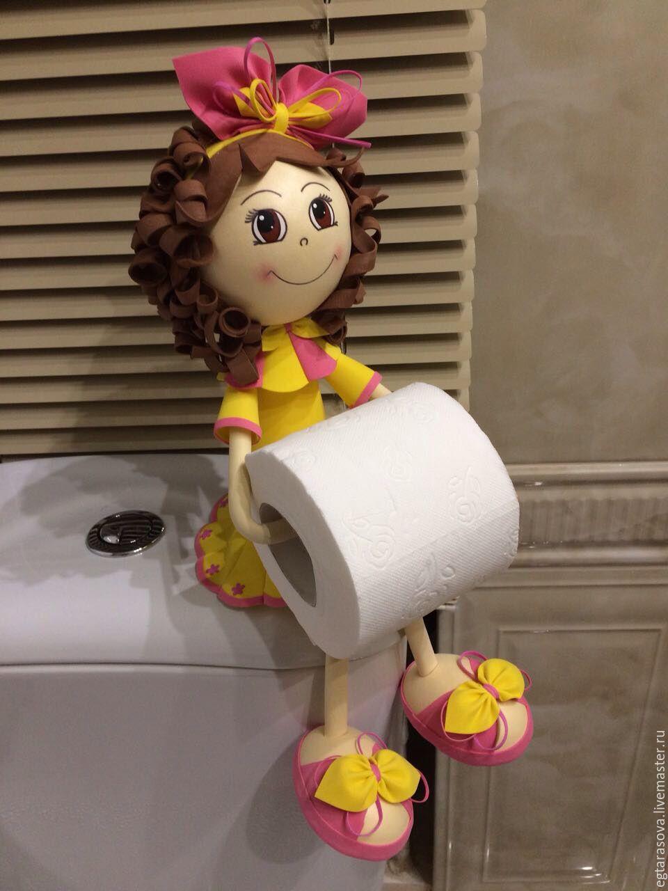 Держатели для бумаги туалетной своими руками
