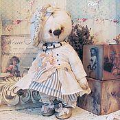 Куклы и игрушки ручной работы. Ярмарка Мастеров - ручная работа Мишка Пепитта. Handmade.
