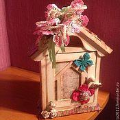 Для дома и интерьера ручной работы. Ярмарка Мастеров - ручная работа Домик для ключиков. Handmade.