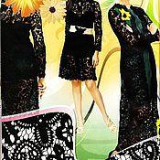 """Одежда ручной работы. Ярмарка Мастеров - ручная работа платье """"Танго"""". Handmade."""