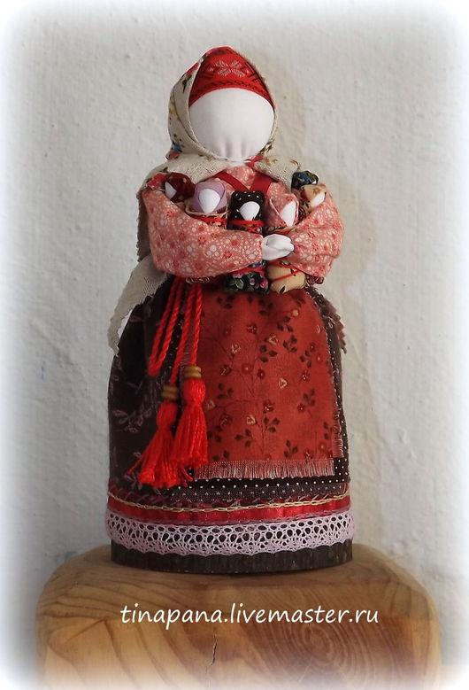 """Обереги, талисманы, амулеты ручной работы. Ярмарка Мастеров - ручная работа. Купить """"Московка"""" (Седьмая Я, семья, плодородие). Handmade."""