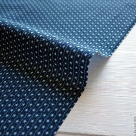Шитье ручной работы. Ярмарка Мастеров - ручная работа. Купить Riley Blake Blue jefferson stripe. Handmade. Ткань хлопок