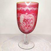 handmade. Livemaster - original item Vintage Cup on a leg Egermann. Handmade.