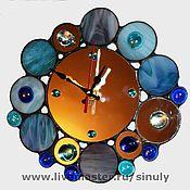 Для дома и интерьера ручной работы. Ярмарка Мастеров - ручная работа Зеркальные часы. Handmade.
