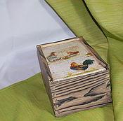 Для дома и интерьера ручной работы. Ярмарка Мастеров - ручная работа Короб,,Птичий двор,,-10%. Handmade.