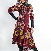 """Одежда ручной работы. Ярмарка Мастеров - ручная работа Платье """"Вишня"""". Handmade."""
