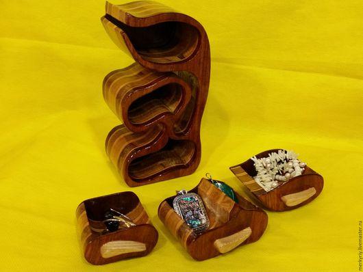 Шкатулки ручной работы. Ярмарка Мастеров - ручная работа. Купить Шкатулка для украшений. Handmade. Бежевый, шкатулка деревянная