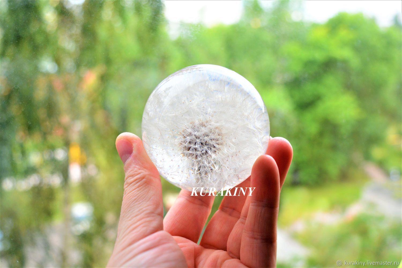"Glass sphere small 6 cm ""Dandelion"", Holiday Design, Anapa,  Фото №1"