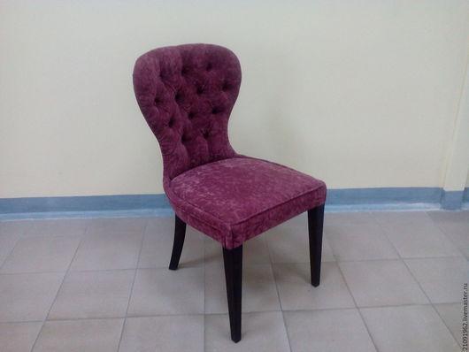 Мебель ручной работы. Ярмарка Мастеров - ручная работа. Купить стул к английским креслам. Handmade. Бордовый