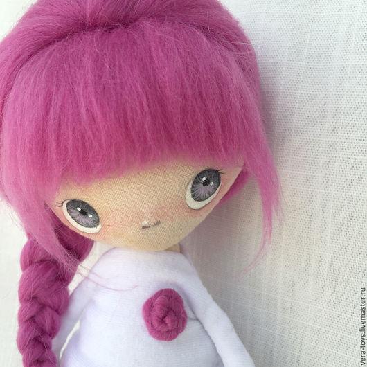 Коллекционные куклы ручной работы. Ярмарка Мастеров - ручная работа. Купить Текстильная кукла_4. Handmade. Брусничный, кукла, необычный подарок