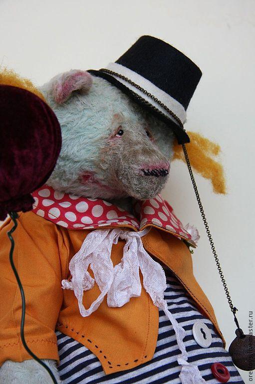 Мишки Тедди ручной работы. Ярмарка Мастеров - ручная работа. Купить clown. Handmade. Мятный, мишка ручной работы