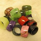 Украшения handmade. Livemaster - original item Rings and seals made of solid stone .. Handmade.