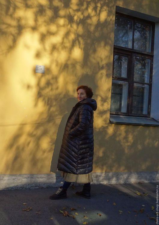 """Платья ручной работы. Ярмарка Мастеров - ручная работа. Купить Платье-сарафан """"Хаки"""". Handmade. Хаки, длинная юбка"""