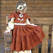 Работы для детей, ручной работы. Ярмарка Мастеров - ручная работа Платье Барышня. Handmade.
