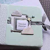 Канцелярские товары handmade. Livemaster - original item Photo albums: Photo album for boy Boho. Handmade.