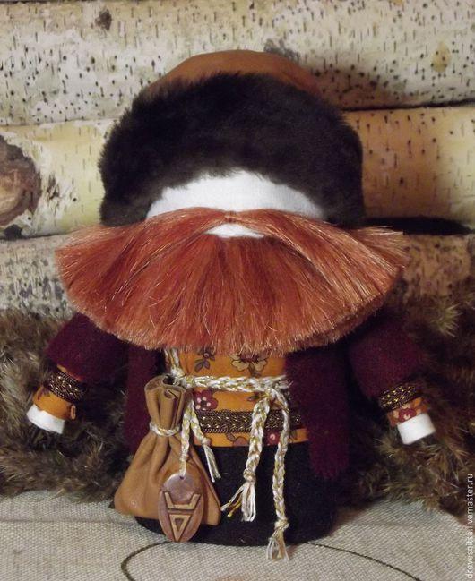 Народные куклы ручной работы. Ярмарка Мастеров - ручная работа. Купить Кукла-оберег Богач. Handmade. Рыжий, славянский оберег