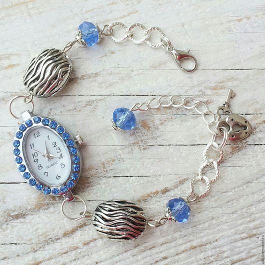 """Часы ручной работы. Ярмарка Мастеров - ручная работа. Купить Часы ручной работы """"Океан"""". Handmade. Часы ручной работы"""