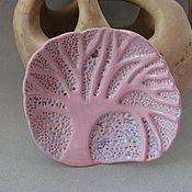 """Для дома и интерьера ручной работы. Ярмарка Мастеров - ручная работа """"Зимнее утро"""" керамическая мыльница. Handmade."""