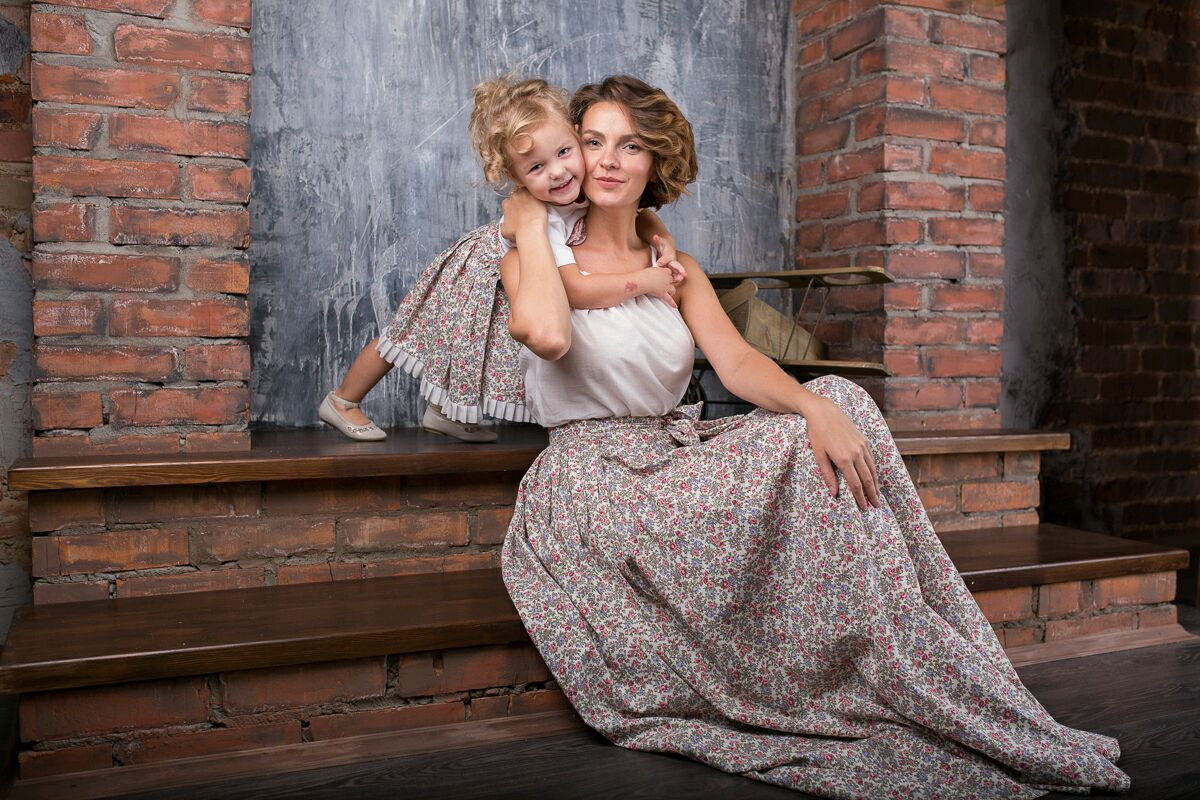 Duet for mother and daughter, Skirts, Moscow,  Фото №1