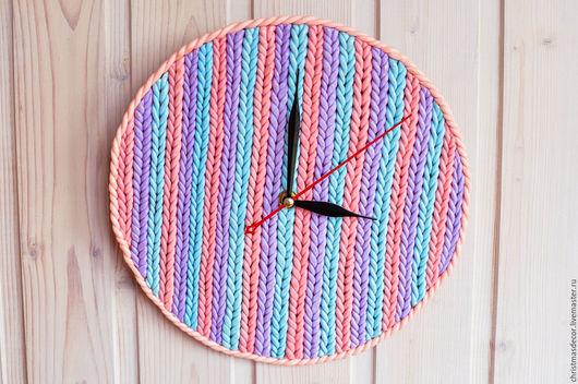 купить часы недорого, Интересные часы, оригинальные часы, круглые настенные часы, часы пастельных тонов, купить часы на стену